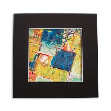 18x18 photo mat board, custom or pre-cut