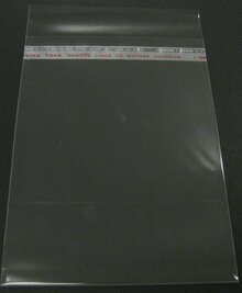 "8-3/8"" x 10-1/8"" Crystal Clear Bags for 8x10"" Mat"