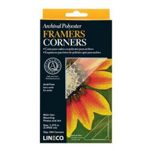 Lineco Archival Polyester Mounting Corners 1.375 Inches
