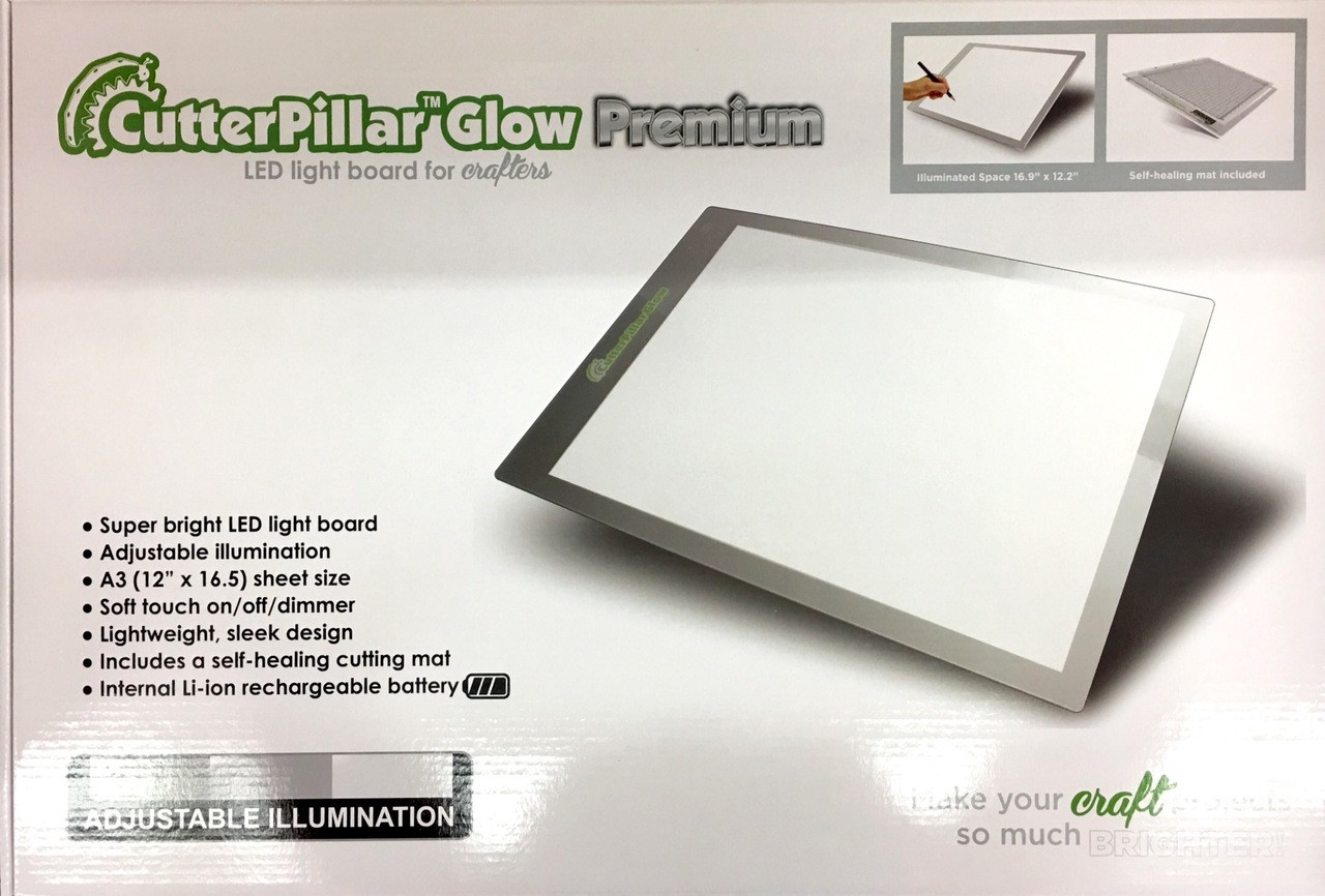 CutterPillar Premium LED Light Mat