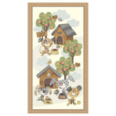 Blank Quilting- Good Doggie- Dog Panel Ivory