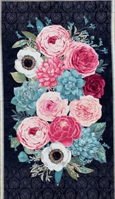 Wilmington Prints Botanical Oasis Panel