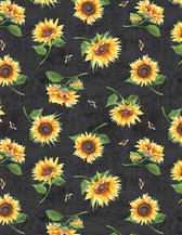 Wilmington Fabrics - Small Black