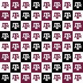 Texas A&M Checkerboard