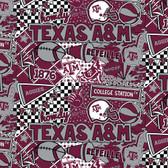 Texas A&M Popart