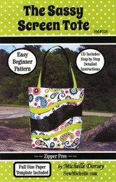 Michelle Dorsey - The Sassy Screen Tote