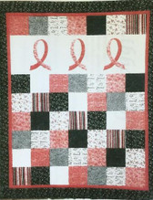 Cheri Leffler Designs - Ribbons of Hope Quilt