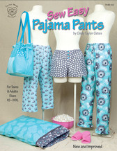 Taylor Made Designs - Sew Easy Pajama Pants #163