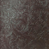 Faux Leather Tooled Vinyl - Monteray Cranberry