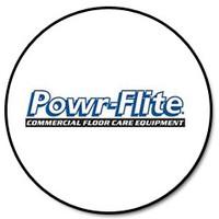 Powr-Flite PX45 - TERMINAL CLOSED END WHITE