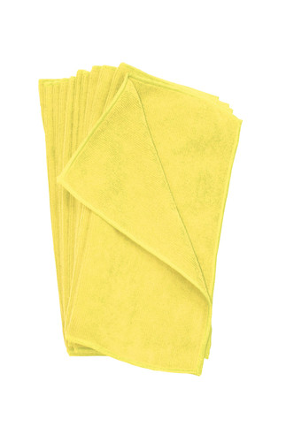 microfiber towels yellow jpm16y