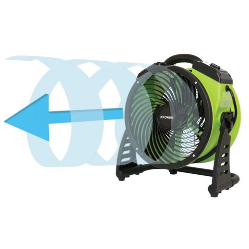 "XPOWER FC-200 Multipurpose 13"" Pro Air Circulator Utility Fan"