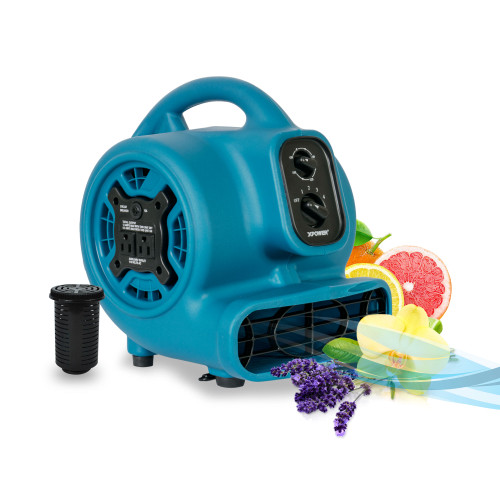 XPOWER P-260AT 1/5 HP Scented Air Mover with Daisy Chain