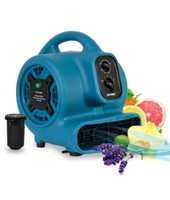 XPOWER P-260NT Freshen Aire 1/5 HP 4 Speed Scented Air Mover with Daisy Chain