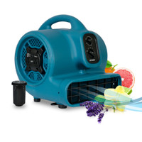 XPOWER P-450AT 1/3 HP Scented Air Mover with Daisy Chain