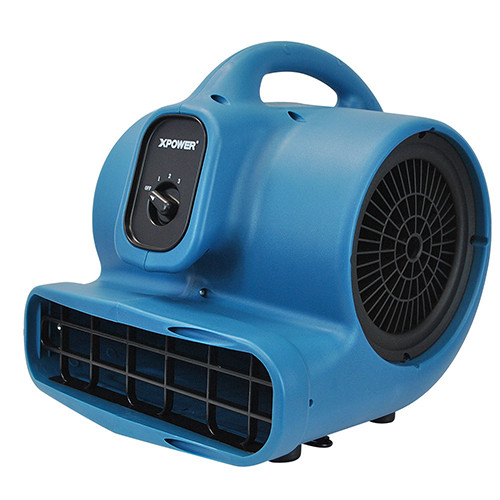 XPOWER P-400 1/4 HP lightweight Centrifugal air mover