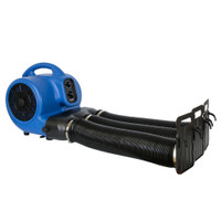 XPOWER X-430TF Air mover Cage Dryer with Multi Cage Drying Hose Kit - NO Heat