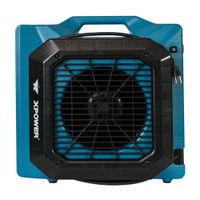 XPOWER XL-760AM 1/3 HP Low Profile Fan, Air Mover, Carpet Dryer with Build-in GFCI Power Outlets