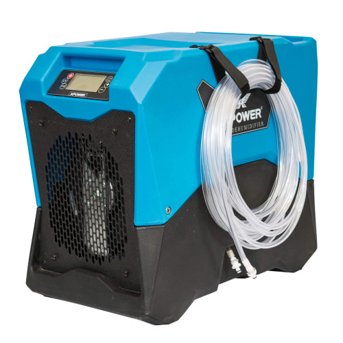 XPOWER XD-75L Energy Star Certified Commercial LGR Dehumidifier for Basement, Crawlspace, Large Rooms, Work Sites- Water Leaks