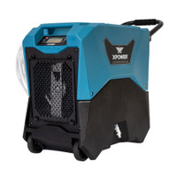 XPOWER XD-85LH Industrial Commercial Water Damage Restoration LGR Dehumidifier,Reducing the relative humidity 20% or lower with XPOWER XD-85LH LGR Dehumidifier