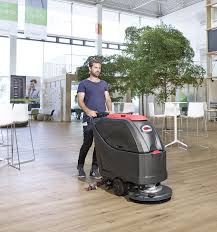 Viper 50000406 AS5160T Walk Behind Automatic Scrubber with Traction Drive and 10 Amp Charger(No Batteries)