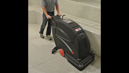 Viper Automatic Floor Scrubber FANG20HD-215 Fang Series Traction Drive,215 A/H Batteries