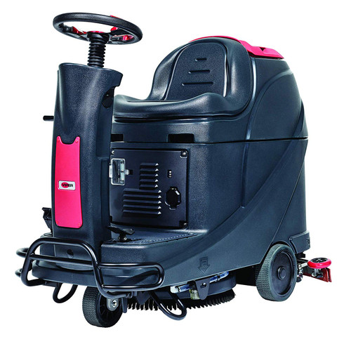 """Viper Floor Scrubber 56385072 AS530R 20"""" Ride On Scrubber with Pad Driver and Brush (130 Ah Wet Batteries)"""