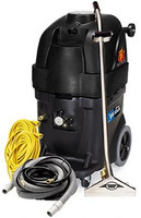 Powr-Flite PFX1385MAX BlackMax Carpet Extractor with 13 Gallon 500 PSI