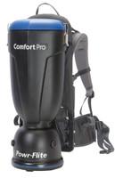 Powr-flite BP10P Premium Comfort Pro Backpack Vacuum - 10 Quart