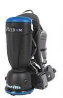 Powr-flite CPF6P Premium Comfort Pro Freedom Battery Backpack Vacuum - 6 Quart
