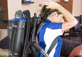 Powr-flite CPF6P Premium Comfort Pro Freedom Battery Backpack Vacuum - 6 Quart