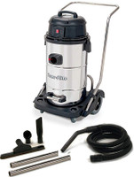 Powr-flite   PF53 Wet Dry Vacuum 15 Gallon With Stainless Steel Tank and Tool Kit