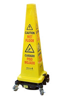Powr-flite PDC1 Hurricone Battery Powered Safety Cone Floor Dryer