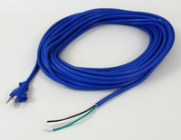 POWER CORD, 18/3 BLUE 40'