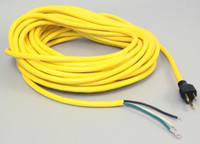 POWER CORD, 14/3 YELLOW 50'