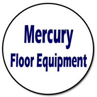 Mercury 10-0007-10 - 10qt. Vacuum Cloth Filter Bag w/L Style Grommet