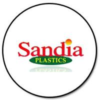 "Sandia 80-0115-SS - 1/2"" BARB X 1/2' MP 90 BRASS"