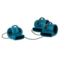 XPOWER P-600A 1/3 HP Air Mover - Build-in Power Outlets connect