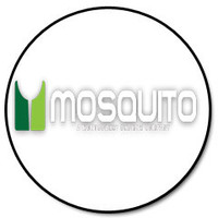 """Mosquito 12"""" stainless steel 2-bend dual jet wand (.01 x 2) with brass valve and jet 900-0073"""