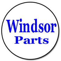 """Windsor 9.848-407.0 (98484070) - Hose, Drain 30"""" Blk W/Cap & 1.5"""" Cuff"""