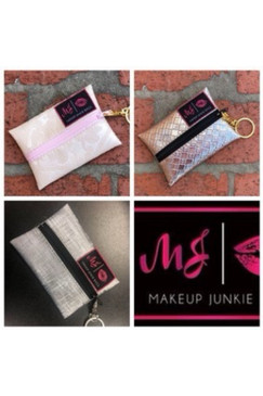 Makeup Junkie Bags MICRO Pink Label- Multiple Color Options