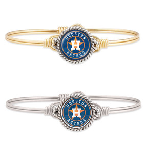 Houston Astros Bangle Bracelet