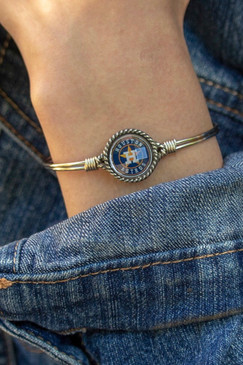Luca + Danni Houston Astros Bangle Bracelet