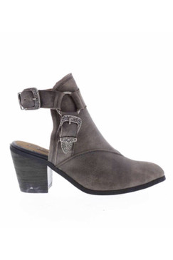 Sbicca SCORPI Backless Bootie in Charcoal
