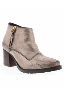 Lorelai Metallic Bronze Ankle Bootie by Sbicca