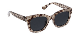 Peepers Center Stage Reading Sunglasses - gray tortoise