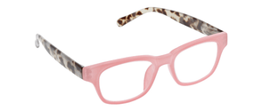 Peepers Vintage Vibes  Blue Light Reading Glasses - Pink & Grey Tortoise