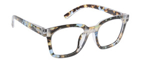 Peepers To The Max Reading Glasses Blue Quartz