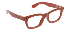 Peepers Lous Blue Light Readers in Rust