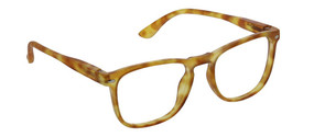 Peepers Dylan Blue Light Reading Glasses in Honey Tortoise